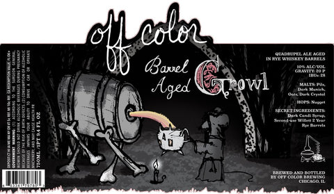 Off Color Barrel Aged Growl