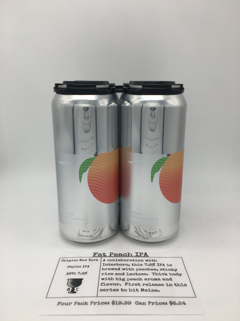 Finback/Interboro Fat Peach IPA