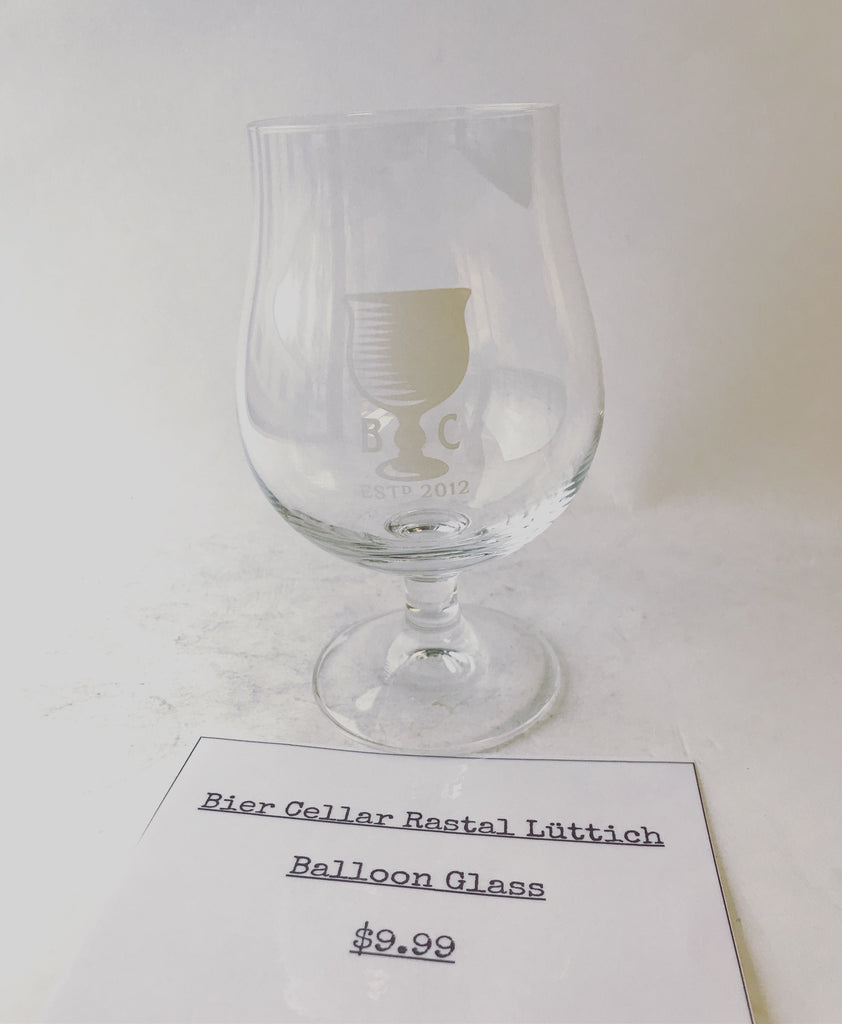 Bier Cellar Rastal Lüttich Balloon Glass