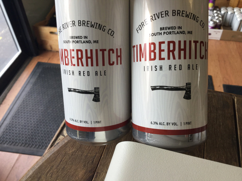 Fore River Timberhitch Irish Red Ale