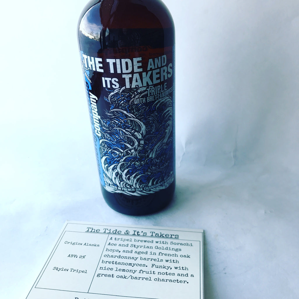 Anchorage Brewing Tide & Its Takers
