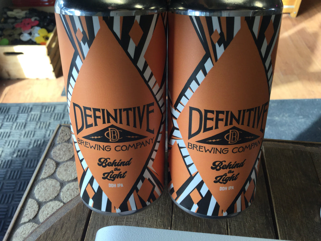Definitive Brewing Behind The Light DDH IPA