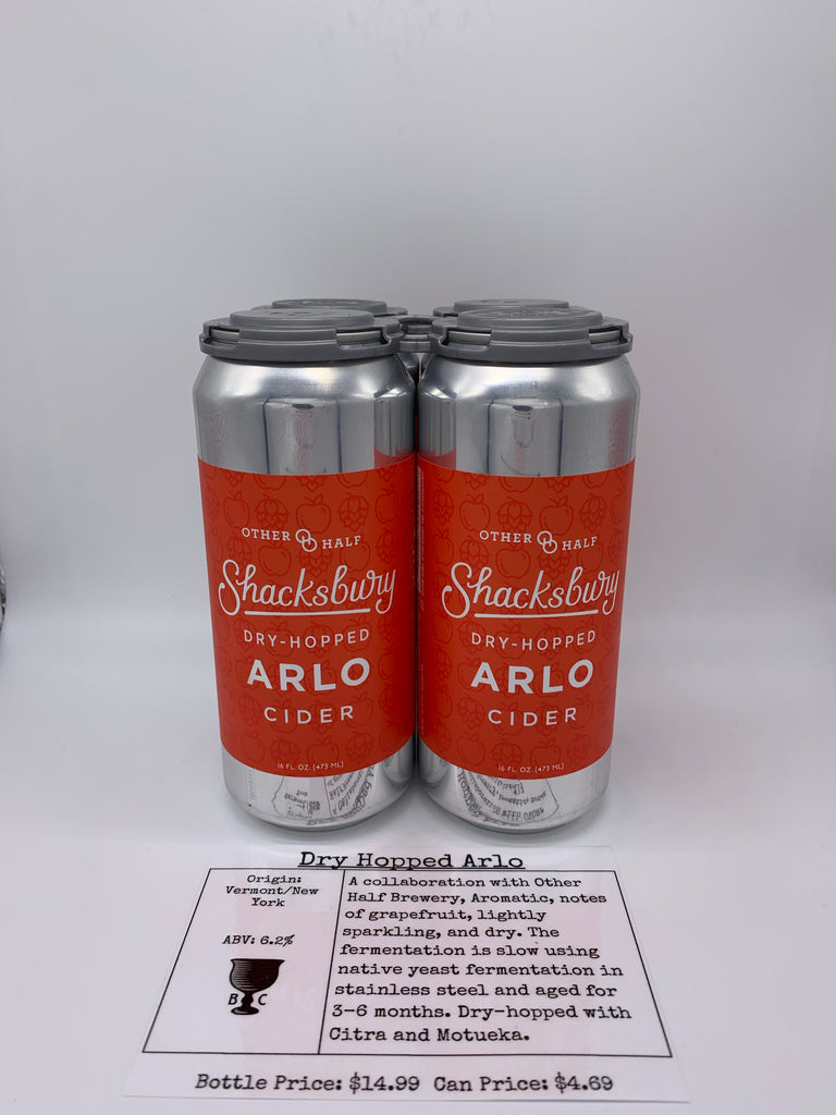 Shacksbury/Other Half Dry Hopped Arlo