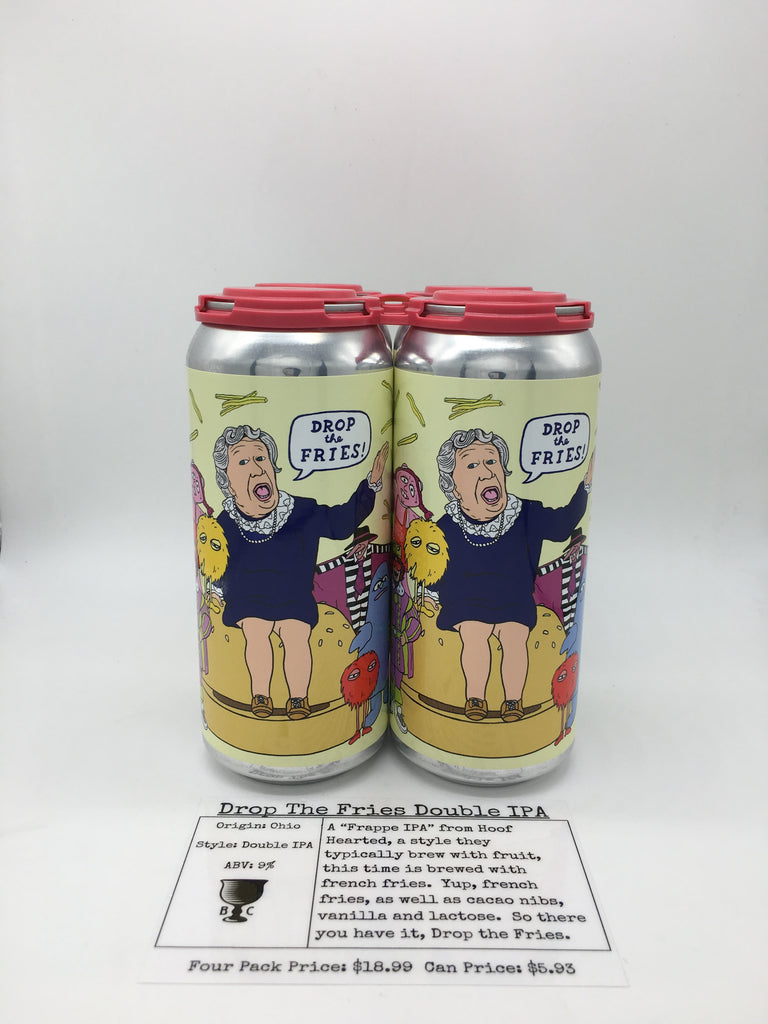 Hoof Hearted Drop The Fries IPA