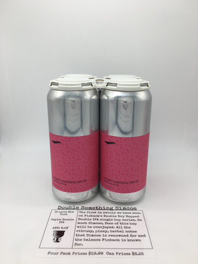 Finback Double Something Simcoe DIPA