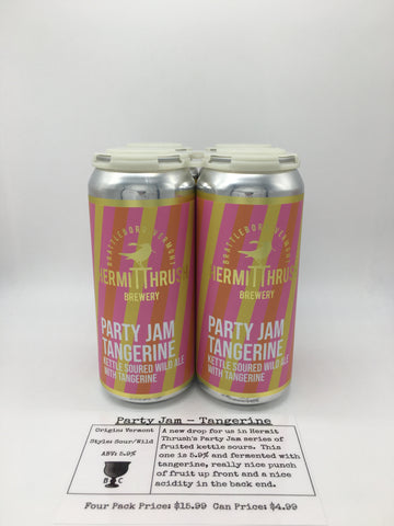 Hermit Thrush Party Jam - Tangerine
