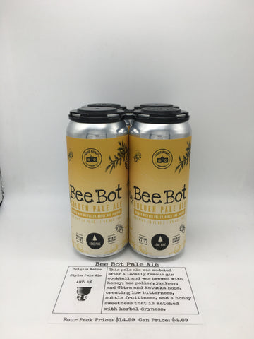 Lone Pine Bee Bot Pale Ale
