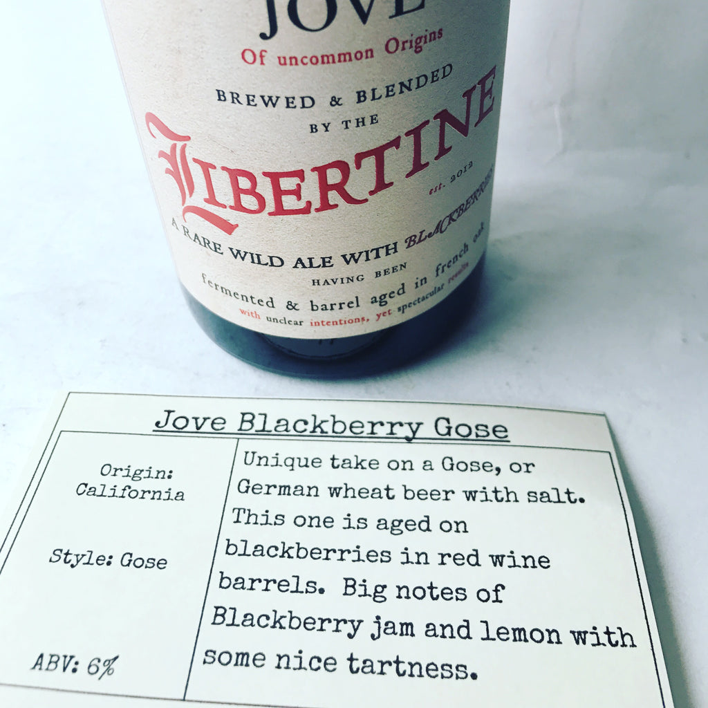 Libertine Brewing Jove