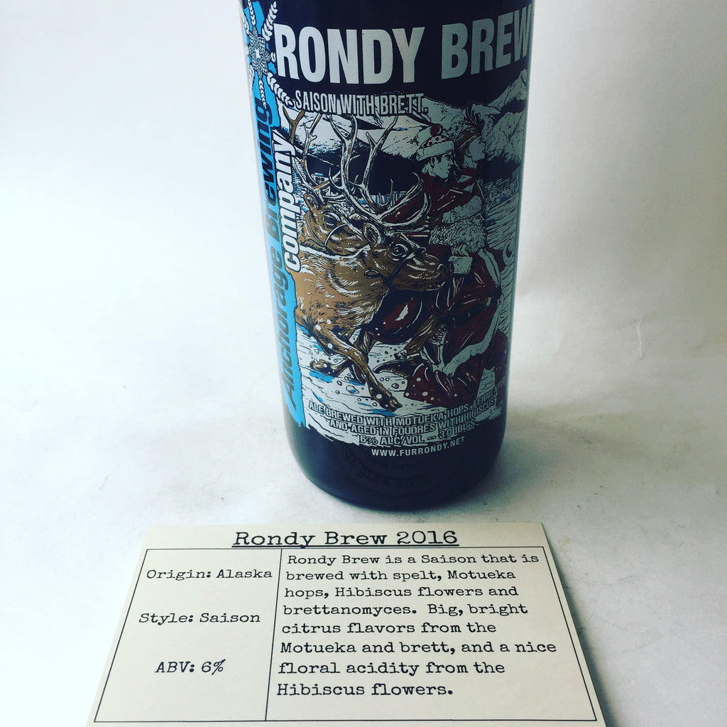 Anchorage Brewing Rondy Brew 2016