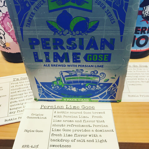 Two Roads Persian Lime Gose