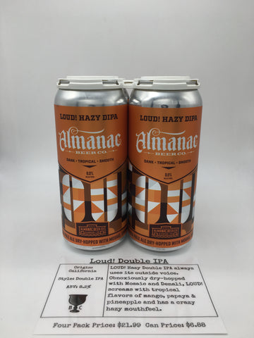 Almanac Loud Double IPA