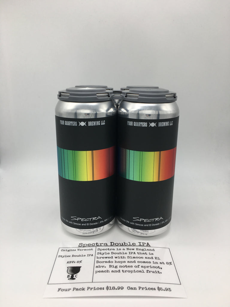Four Quarters Spectra Double IPA