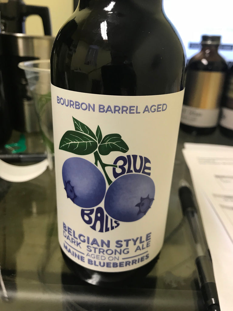 Foulmouthed Barrel Aged Blue Balls