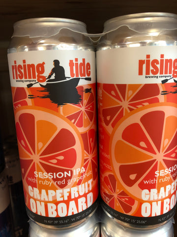 Rising Tide Grapefruit on Board