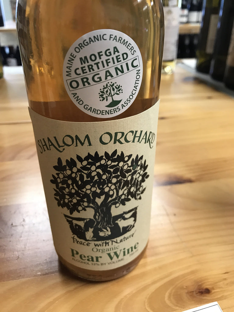 Shalom Orchard Pear Wine