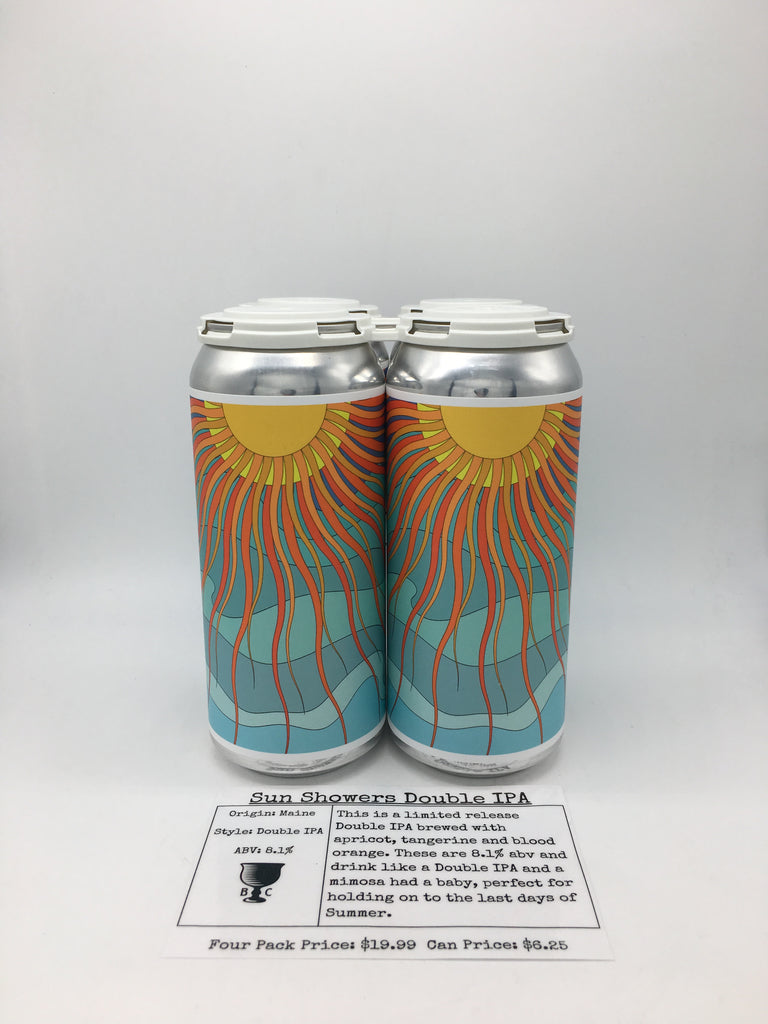 Barreled Souls Sun Showers Double IPA
