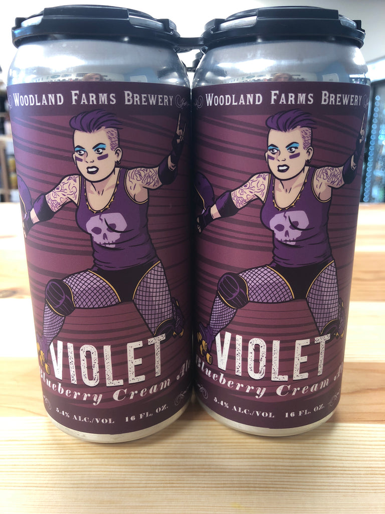 Woodland Farms Violet Blueberry Cream