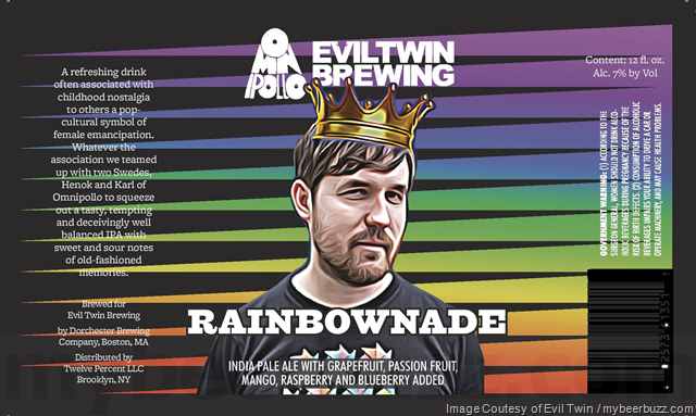 Evil Twin/Omnipollo Rainbownade