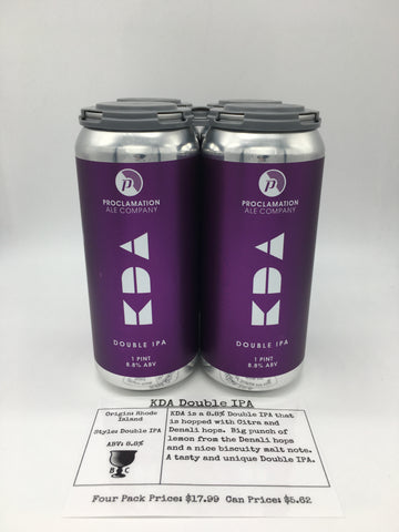 Proclation KDA Double IPA