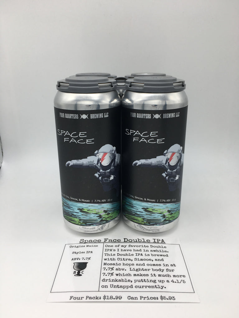 Four Quarters Space Face Double IPA