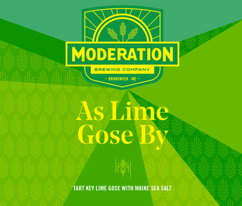 Moderation Brewing As Lime Gose By
