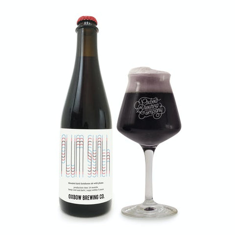 Oxbow Brewing Plum Synthesis