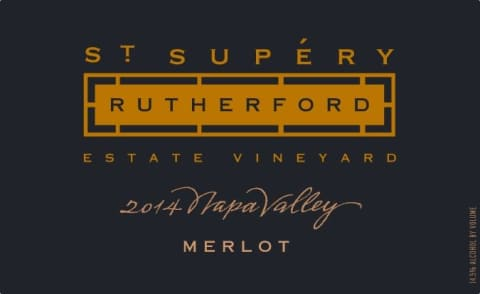 St Supery Rutherford Merlot 2015