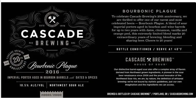 Cascade Bourbonic Plague