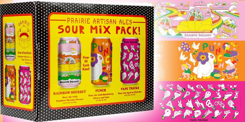 Prairie Artisanal Sour Mix Pack