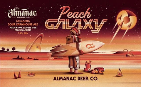 Almanac Peach Galaxy