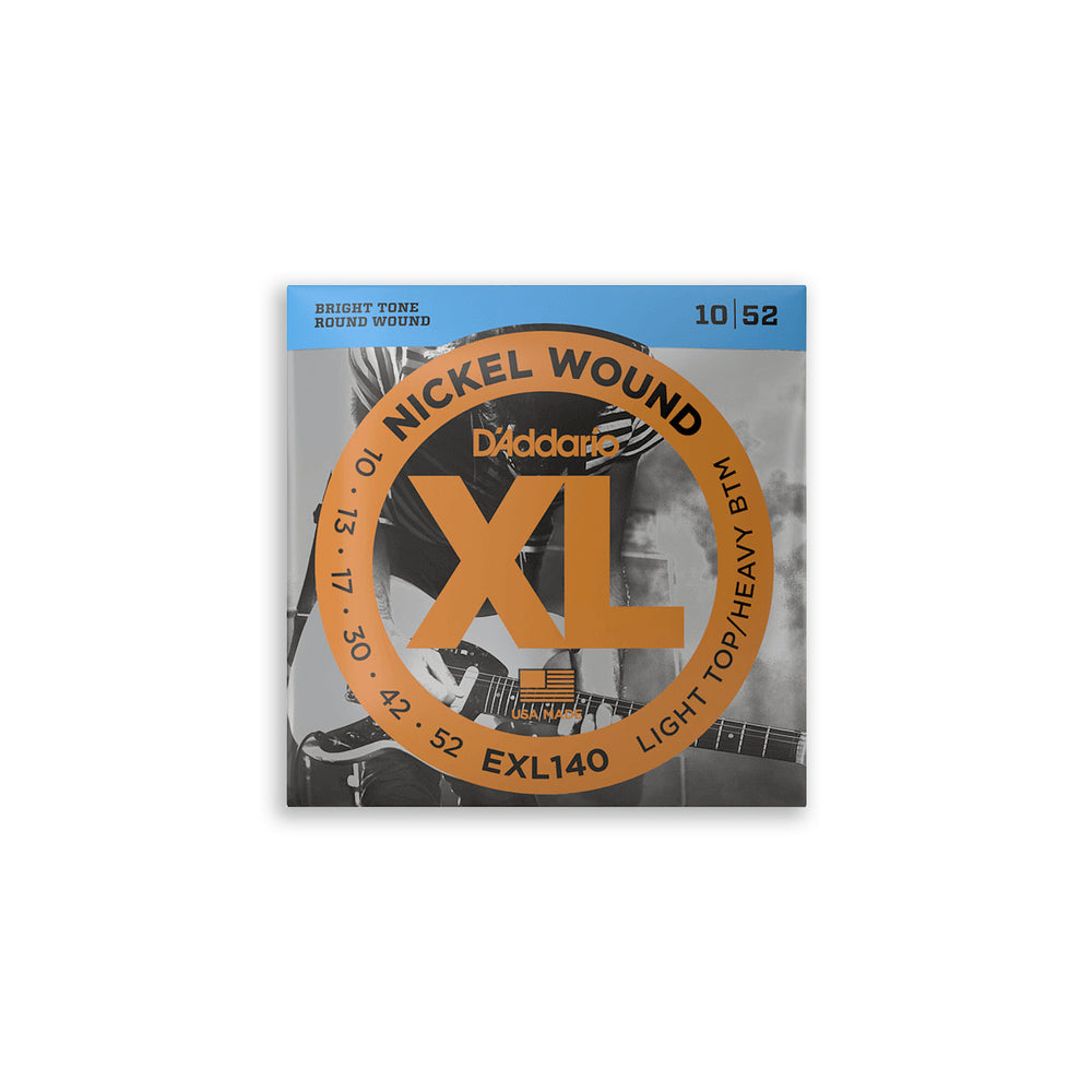 DAddario EXL140 Nickel Wound Electric Strings 10-52