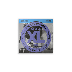 Load image into Gallery viewer, DAddario EXL115 Nickel Wound Electric Strings 11-49