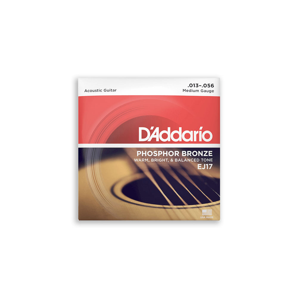 DAddario EJ17 Phosphor Bronze Acoustic Strings 13-56
