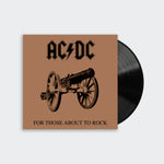 AC/DC - For Those About To Rock (We Salute You) (LP)