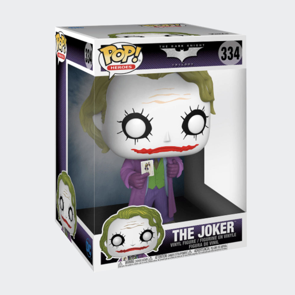 Funko The Dark Knight - The Joker 10 Inch Pop! Vinyl Figure #334