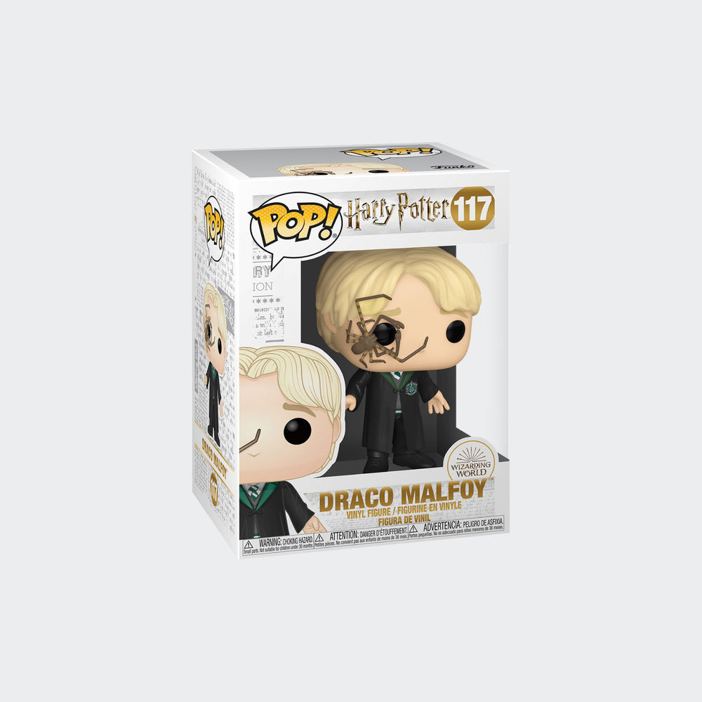 Funko Harry Potter - Draco Malfoy with Spider Pop! Vinyl Figure #117