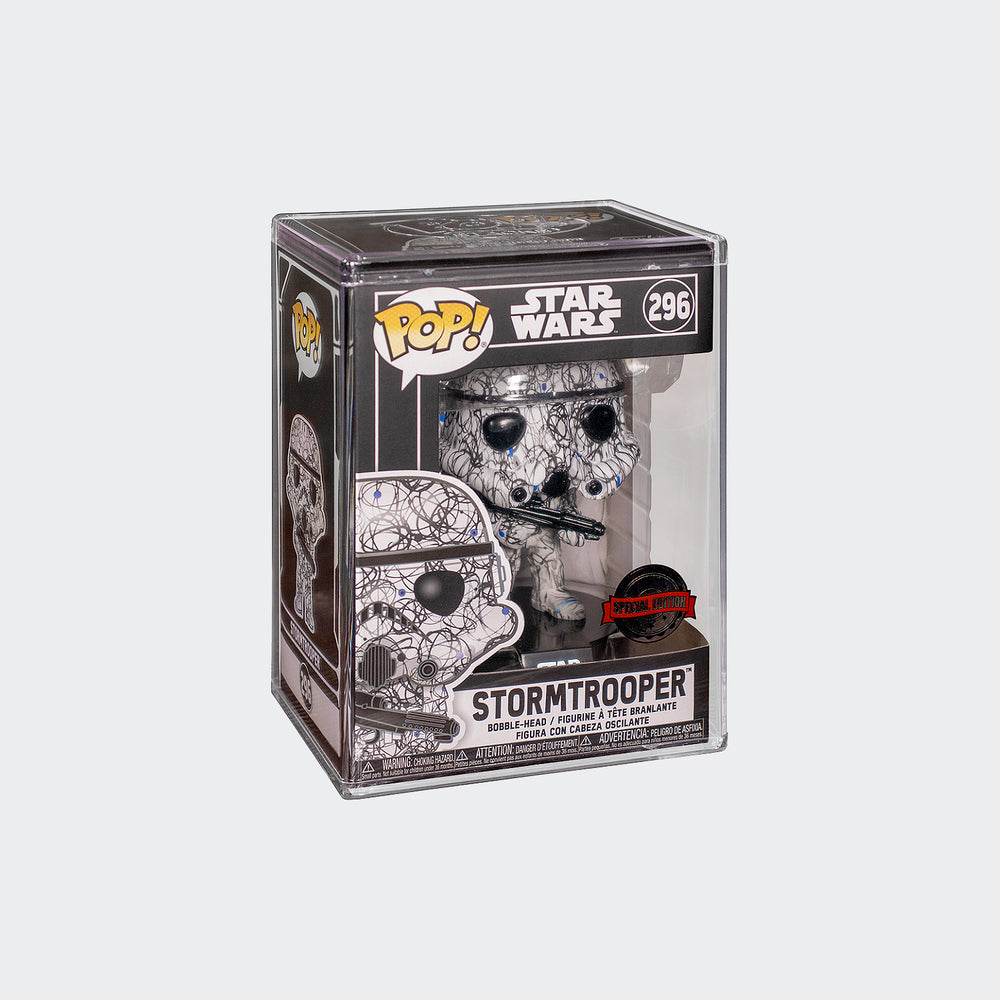 Funko Star Wars - Stormtrooper Futura Pop! Vinyl Figure with Protector #296