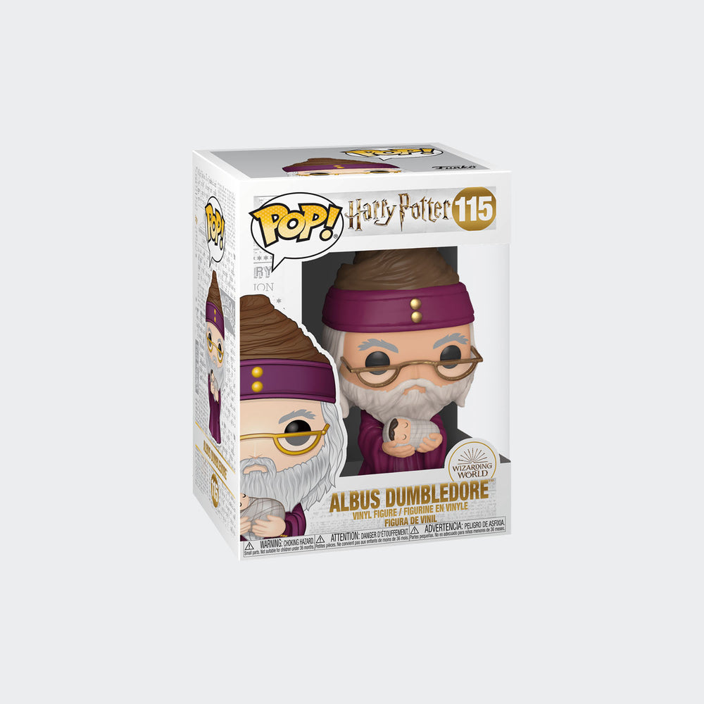 Funko Harry Potter - Dumbledore with Baby Harry Pop! Vinyl Figure #115