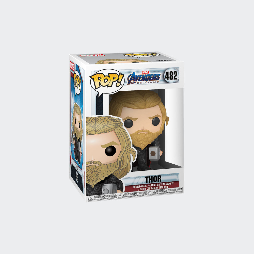 Funko Avengers 4: Endgame - Thor with Hammer and Stormbreaker Pop! Vinyl Figure #482