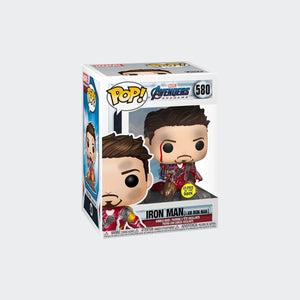 Load image into Gallery viewer, Funko Avengers: Endgame - I Am Iron Man Glow Deluxe Pop! Vinyl Figure #580