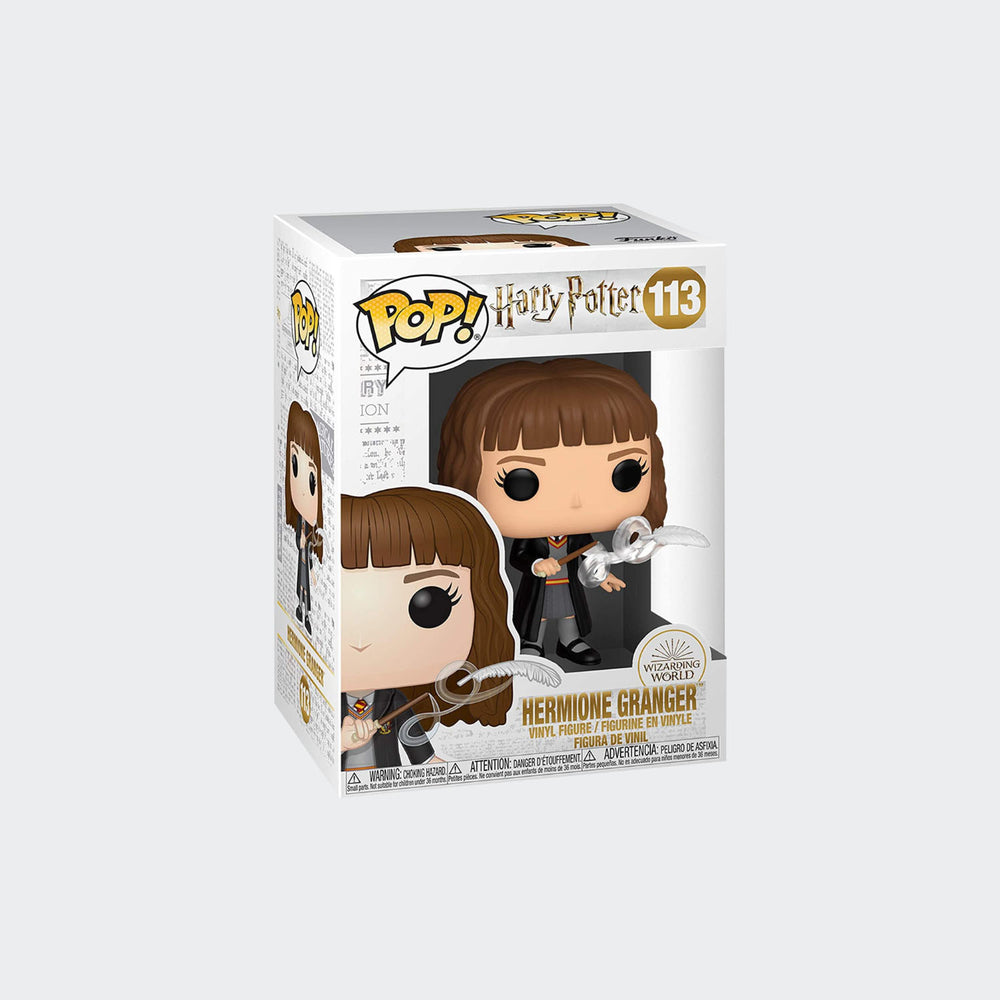 Funko Harry Potter - Hermione Granger with Feather Pop! Vinyl Figure #113