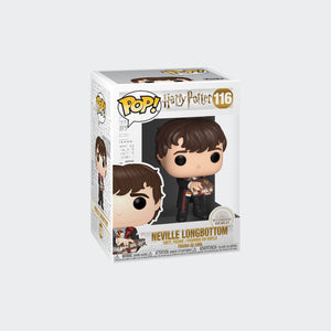 Load image into Gallery viewer, Funko Harry Potter - Neville Longbottom with Monster Book Pop! Vinyl Figure #116