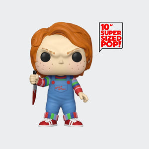 Funko Childs Play 2 - Chucky 10 Inch Pop! Vinyl Figure #973