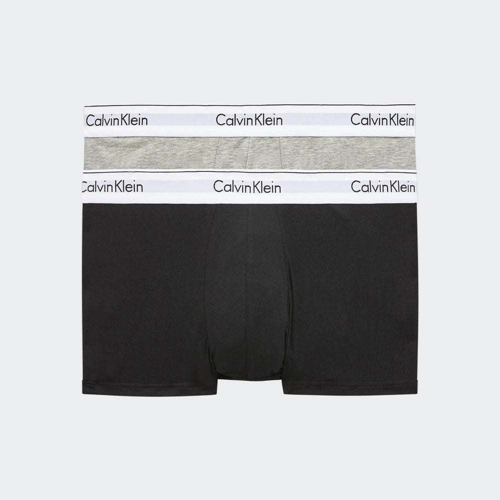 Calvin Klein Mens Modern Cotton Stretch Trunk 2Pk