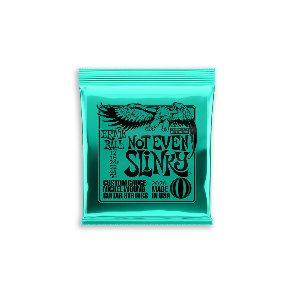 Ernie Ball Not Even Slinky Nickel Wound Electric Strings 12-56