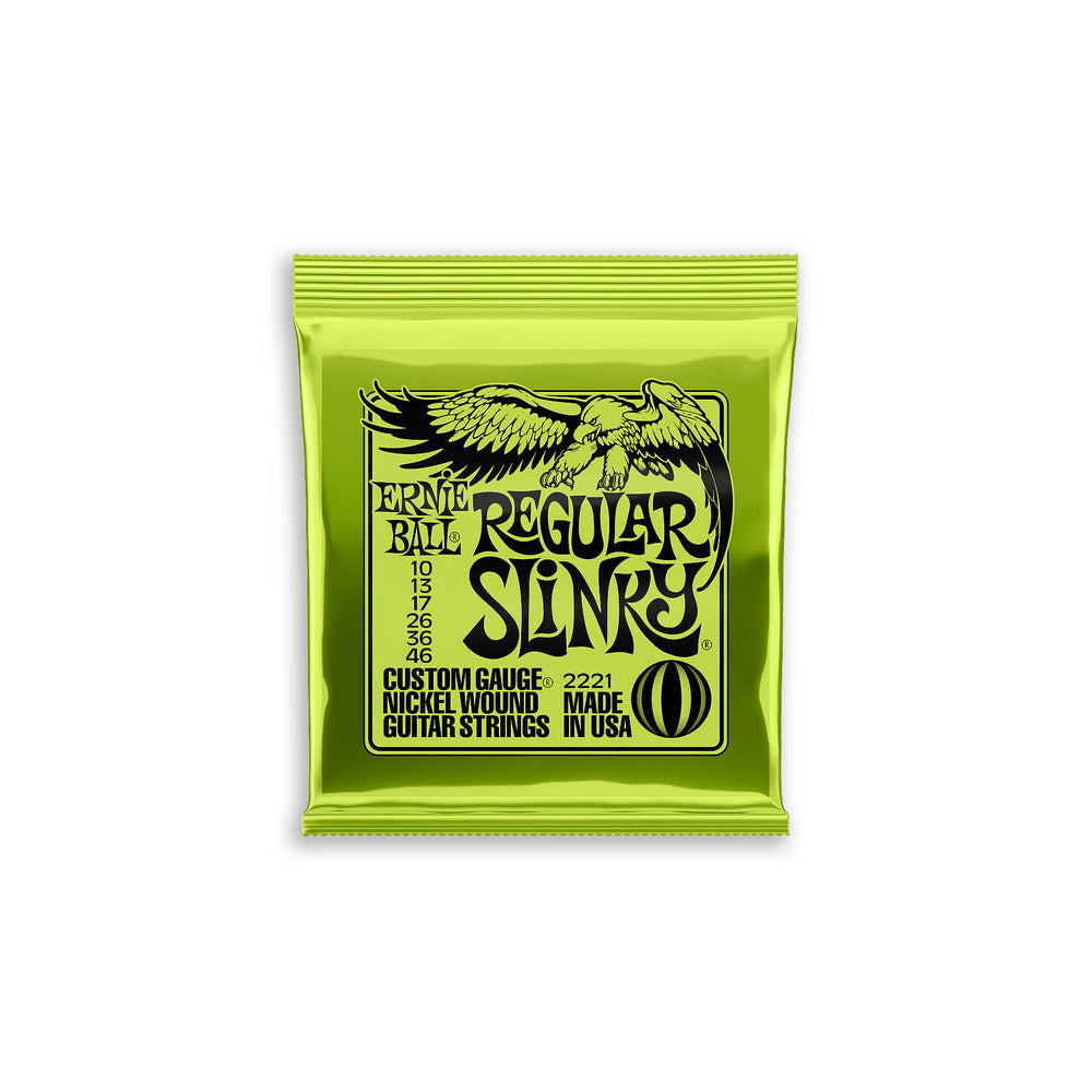 Ernie Ball Regular Slinky Nickel Wound Electric Strings 10-46