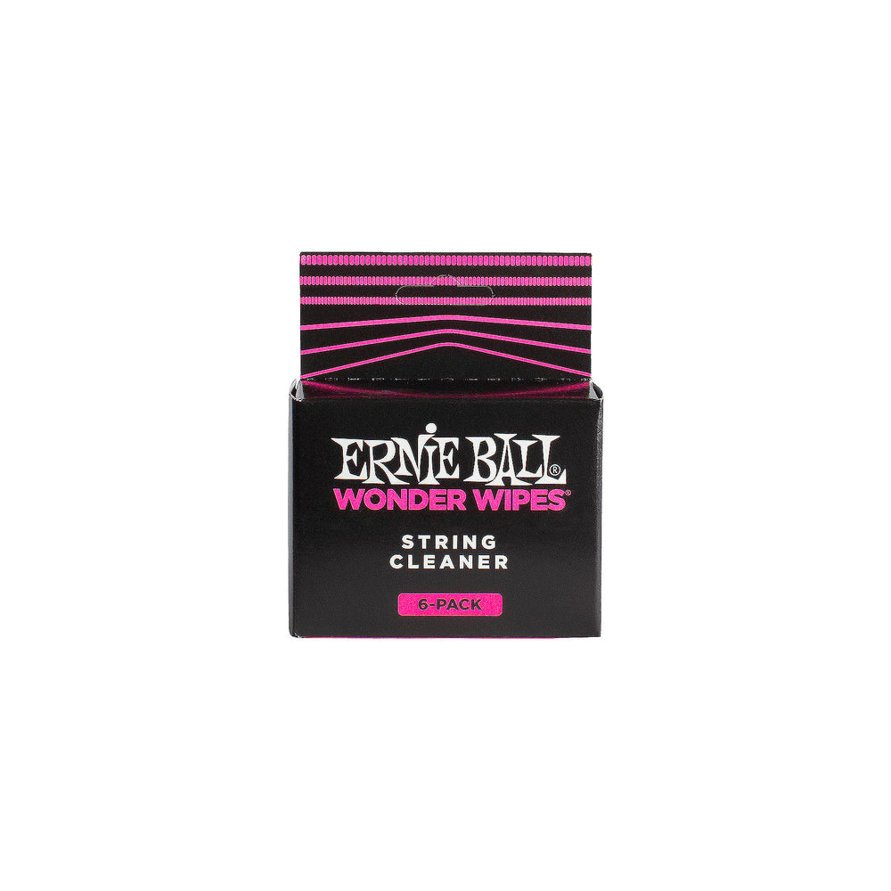 Ernie Ball Wonder Wipes String Cleaner 6Pk