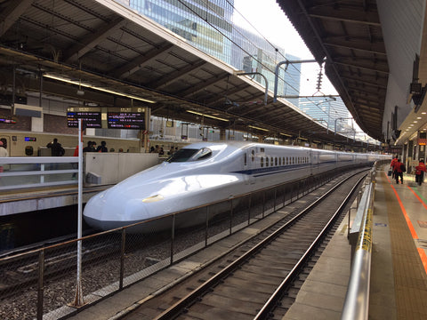 Trains in Japan are better than trains in Penrith and the whole UK