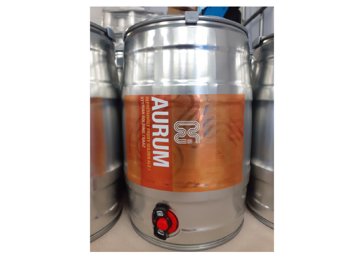5000ml Mini keg of Aurum