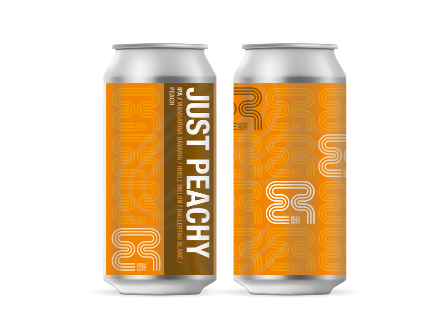 Just Peachy IPA 440ml Craft Can